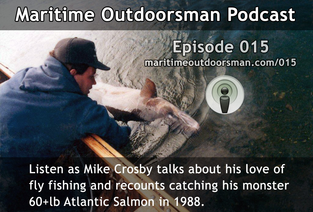 Mike Crosby recounts his record 60+ pound Atlantic Salmon