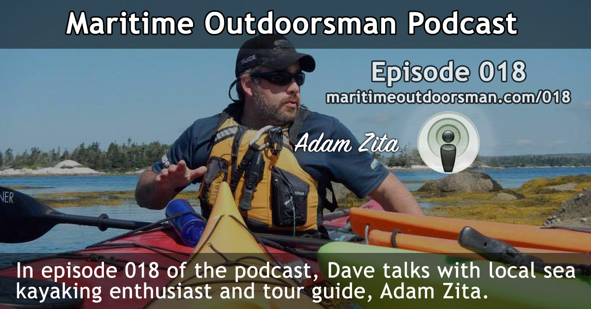Adam Zita Sea Kayaking Podcast