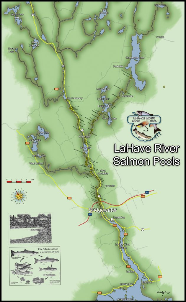 Lahave River Salmon Pools